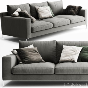 B&b Italia Harry 3 Seater Sofa