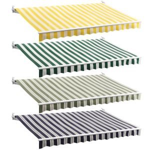 Awnings Striped Set 2