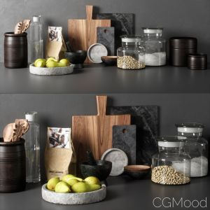 Kitchen Decor Set 05