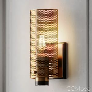 Perforated Perfection Sconce