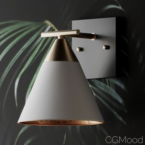 Young House Love Clad Cone Bath Sconce