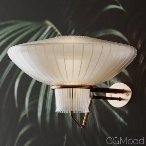 Pair Of Large Wall Lamp By Erik Gunnar Asplund