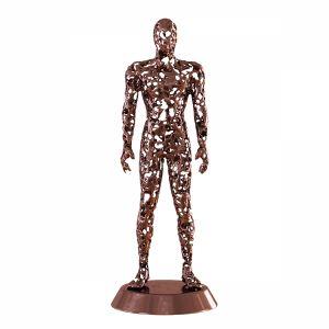 Men Metal Figurine