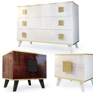 Dresser, Nightstand. Diora, Furniture Yartsevo.