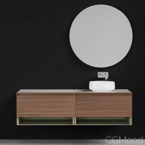 Furniture Set Arblu 5.Zero Overhead Sink
