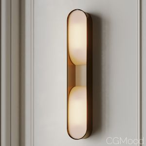 Loop Double Led Wall Sconce
