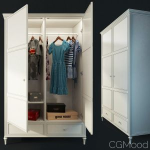 Double Door Wardrobe. Riverdi