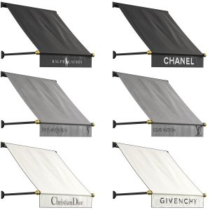 Awnings Set For Boutiques
