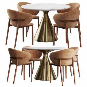 Artisan & West Elm Silhouette Dining Set