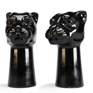Ceramic Vase Panther H&m Home