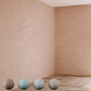 Decorative Plaster 4 Colors Part 02