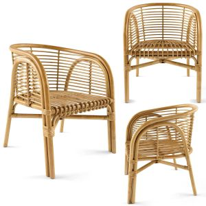 Lombok Rattan Lounge Chair