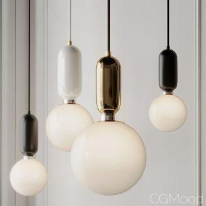 Modern Simple Led Pendant Lights - Glass Ball