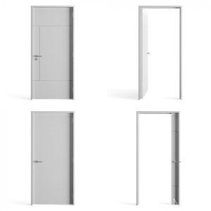Render Basics - 5 White Doors