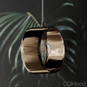Ara Set Of 3 Gold Ring Pendant Lamp