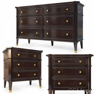 Dresser, Nightstand. Mahongay  By Mhliving