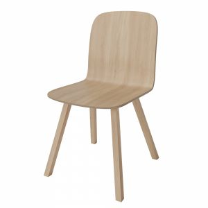 Palm Veneer Dining Chair