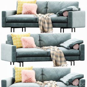 Interface Blues Sofa