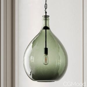 Clift Oversized Glass Pendant