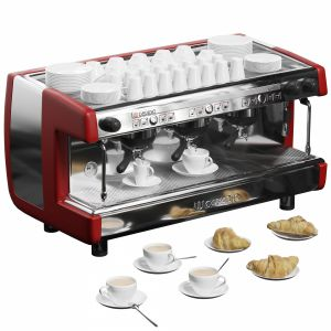 Casadio Undici A3 Coffee Machine With Croissants