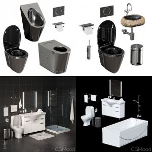 Sets for bathroom vol.1