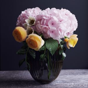 Bouquet Of Flowers In A Vase 8