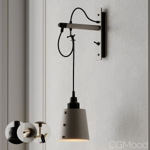 Hooked Wall Light Small Stone From Buster And Punc