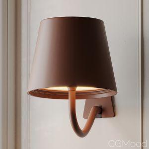 Poldina Wall Lamp Zafferano