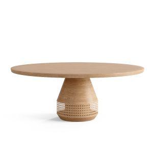 Cane Collection Center Table 01