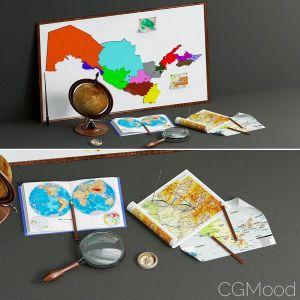 Geographer Set