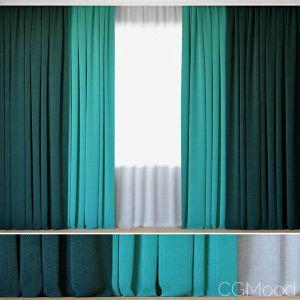 Curtains With Tulle   Novum