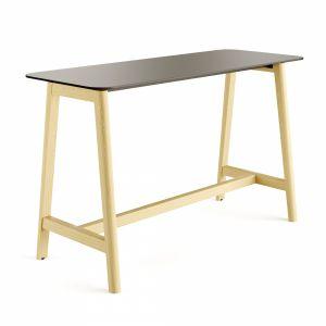 Nova Wood Desk High