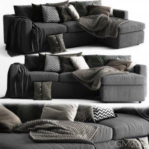 Ikea Vimle Sofa 3 Seats Chaise Longue