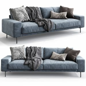 B&t Design Sofa Piu Triple