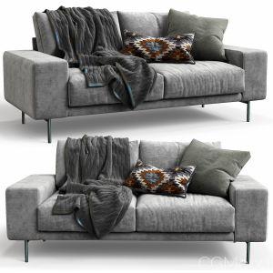 B&t Design Sofa Piu Double