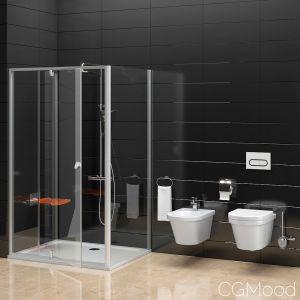 Shower Room Ravak Pivot And Toilet Bidet Ravak Chr