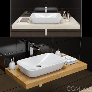 Washbasin Ravak Ceramic R