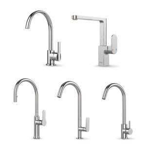A Set Of Kitchen Faucets From Ravak Set 11