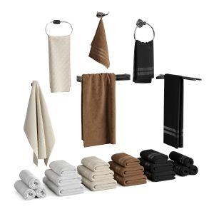 Set Of Towels For Bathroom Set 01