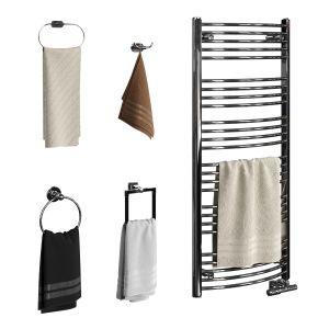 Set Of Towels For Bathroom Set 02