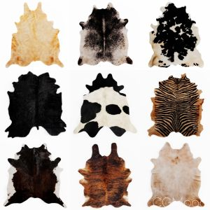Nine Rugs From Animal Skins 09