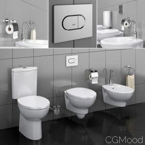 Toilet Bowl And Bidet Hatria Erika Pro