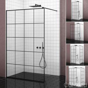 Cabin Showers Radaway Modo New Black Factory