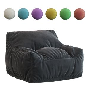 Big Joe Lux Large Bean Bag Chair & Lounger