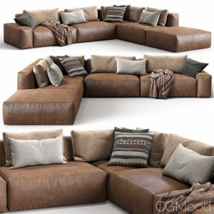 Jesse Leather Sofa Daniel (composition 5)