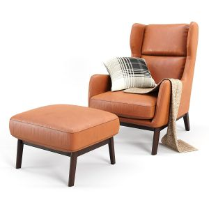 Ryder Leather Chair And Cushioning