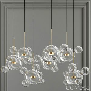 Bolle Bubble Led Pendant Lamp 34
