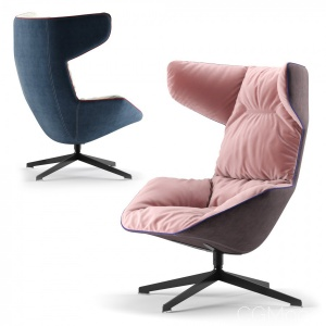 Moroso Armchair Fabric