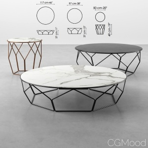 Bonaldo Arbor coffee tables