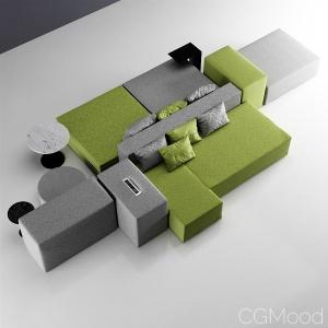 Marelli Lounge Modular Sofa